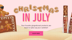 TooFaced Cosmetics Releases Best Selling Christmas Makeup (In July!)