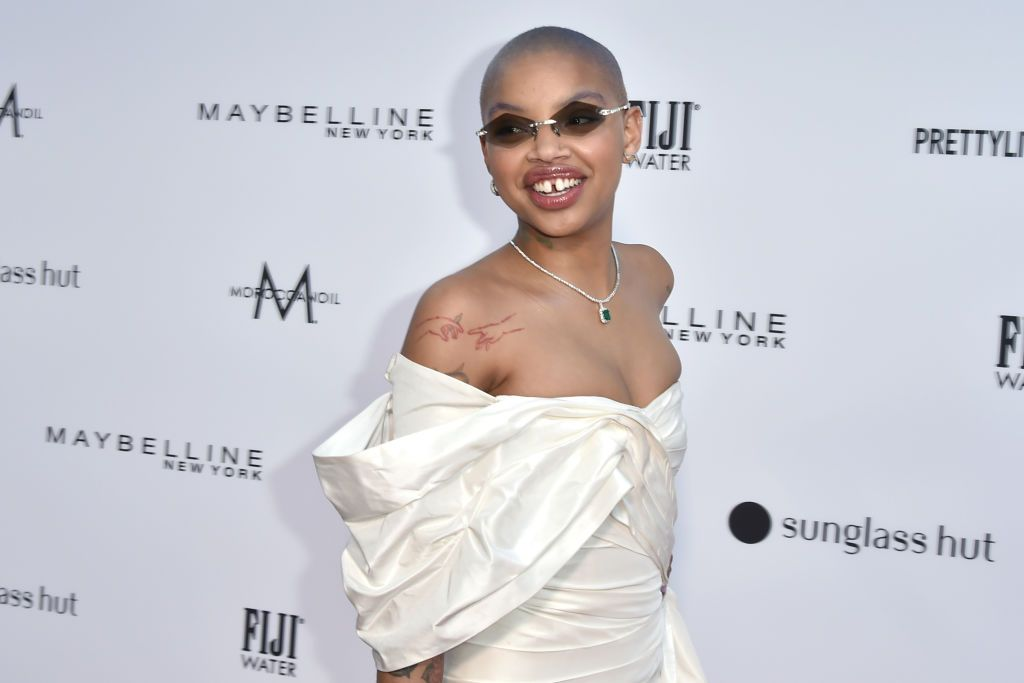 Model And New Mom Slick Woods Joining Love And Hip Hop Hollywood With Her New Man