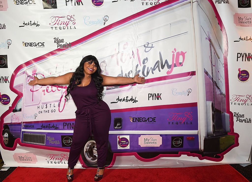 """#LHHATL: Shekinah Jo Addresses Fall Heard 'Round The Internet, Blames Her Behind For That Spin: Y'all Know My A– Is Fake"""""""