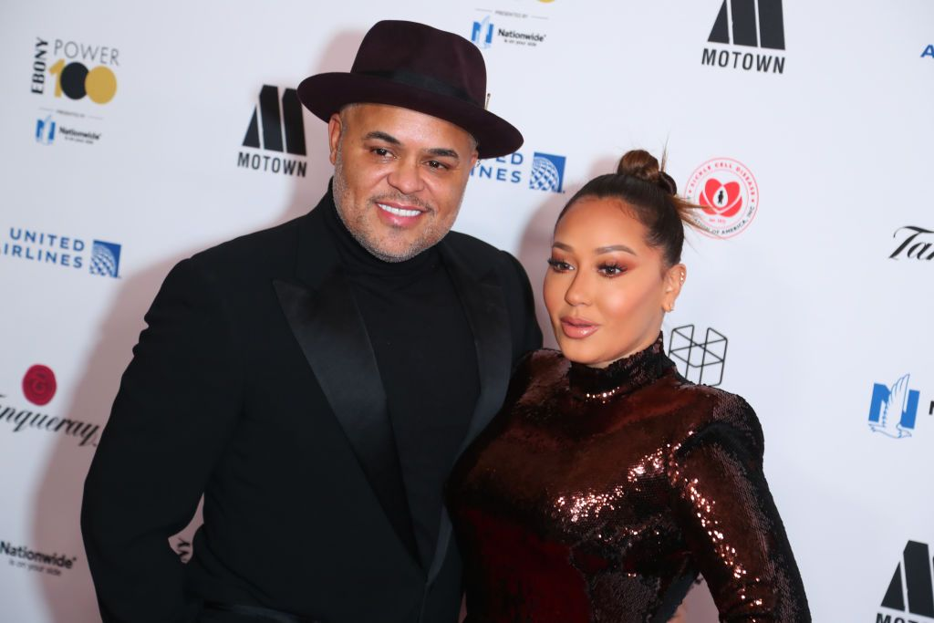 """""""Stay Out Of A Woman's Uterus:"""" Israel Houghton Steps To Clown Who Criticized Adrienne For Not Having Children"""