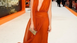 Copy Margot Robbie's Blood Orange Dress