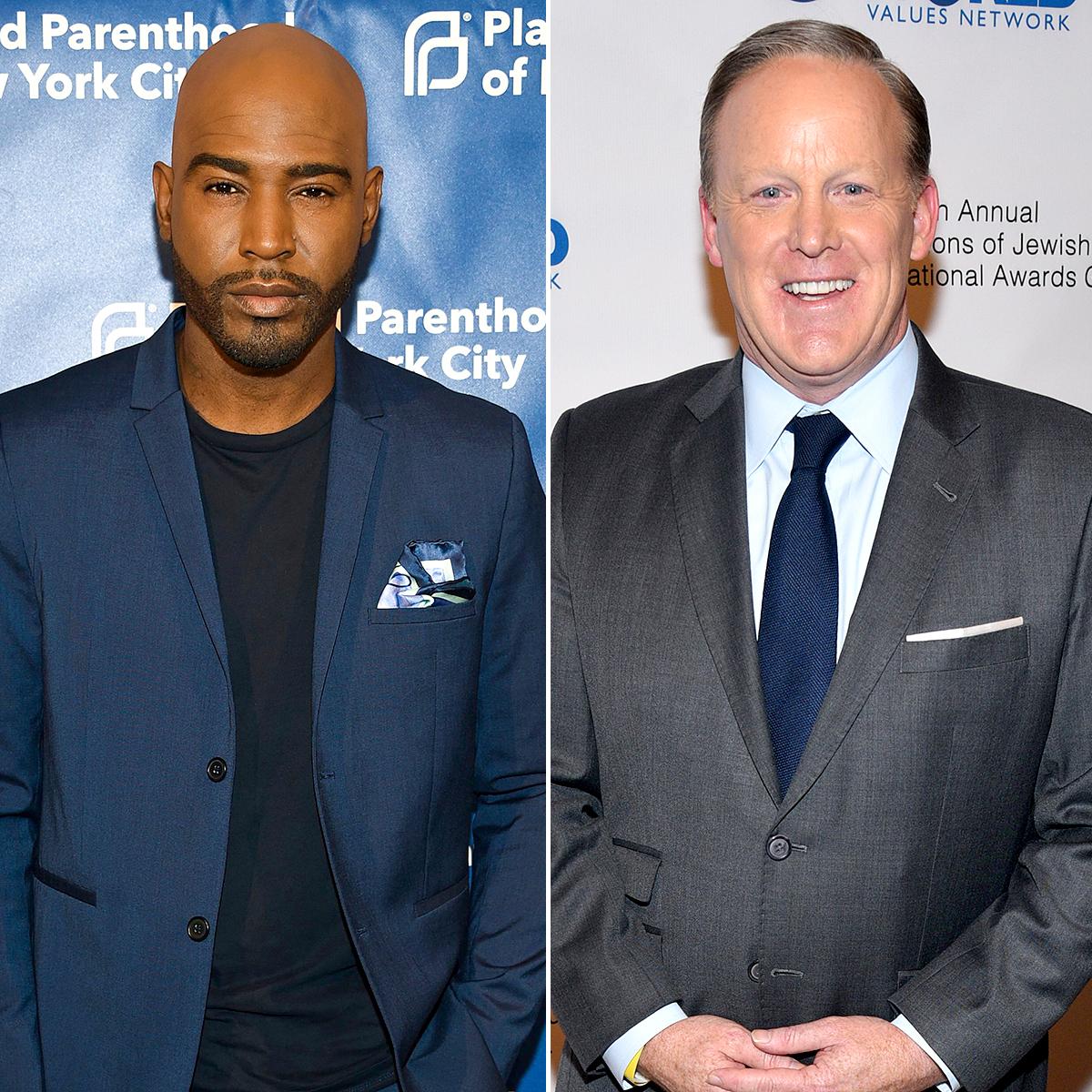 Karamo Brown Responds to Backlash After Calling Sean Spicer a 'Good Guy'
