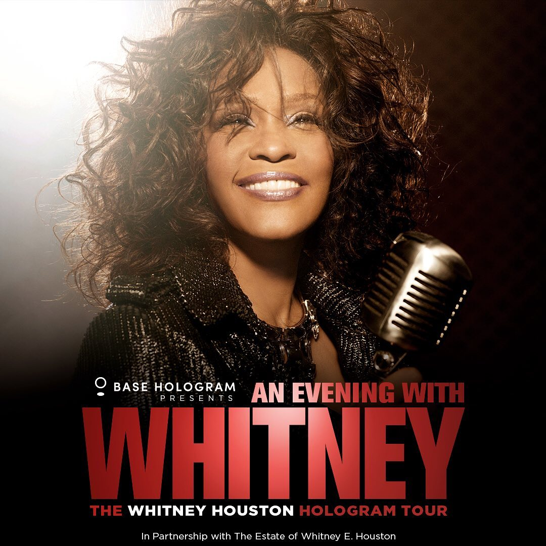 Whitney Houston Hologram Tour To Launch In 2020