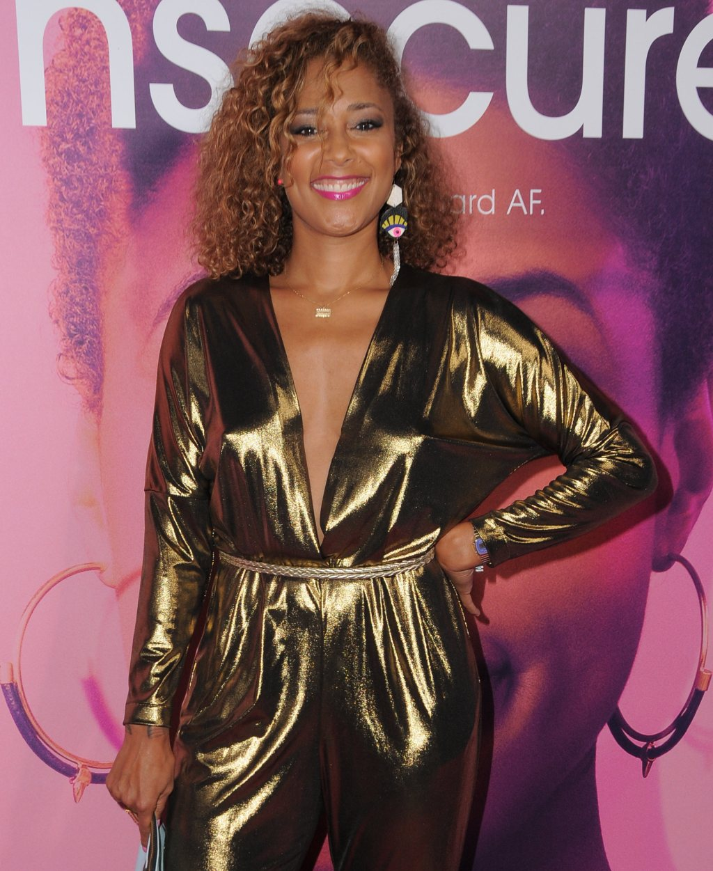 """Amanda Seales Still Has A Job On  Insecure, Shares What The Vibe Has Been On Set Following Black Emmys Party Drama: """"Things Happen"""""""