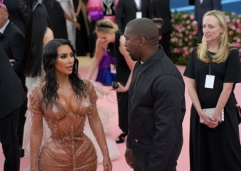 "Kanye Was Not Pleased With Kim Kardashian's Sexy Met Gala Look: ""I Didn't Realize That That Was Affecting Like My Soul"""