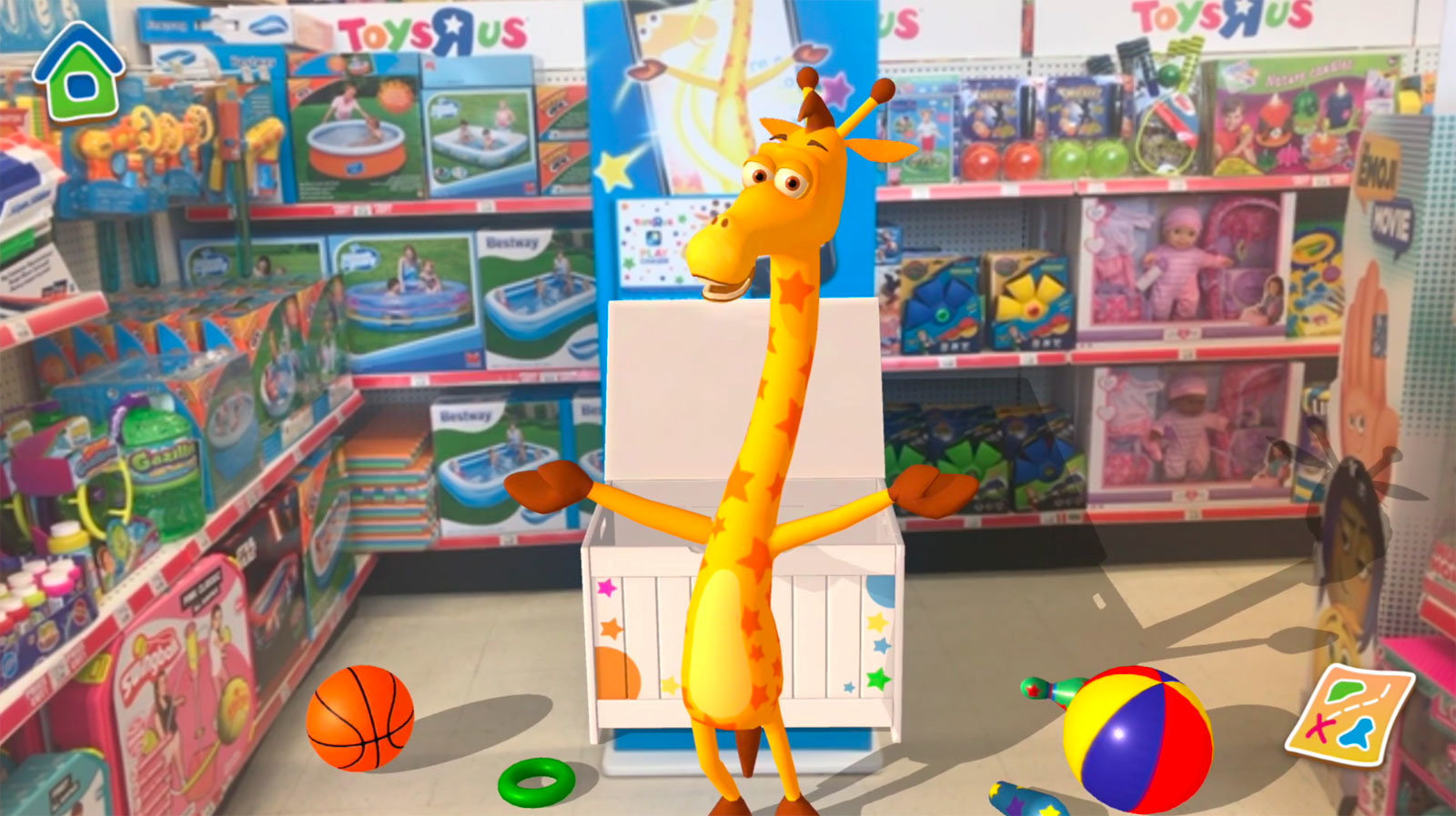 Toys R Us Canada Introduces Snapchat Augmented Reality Experience