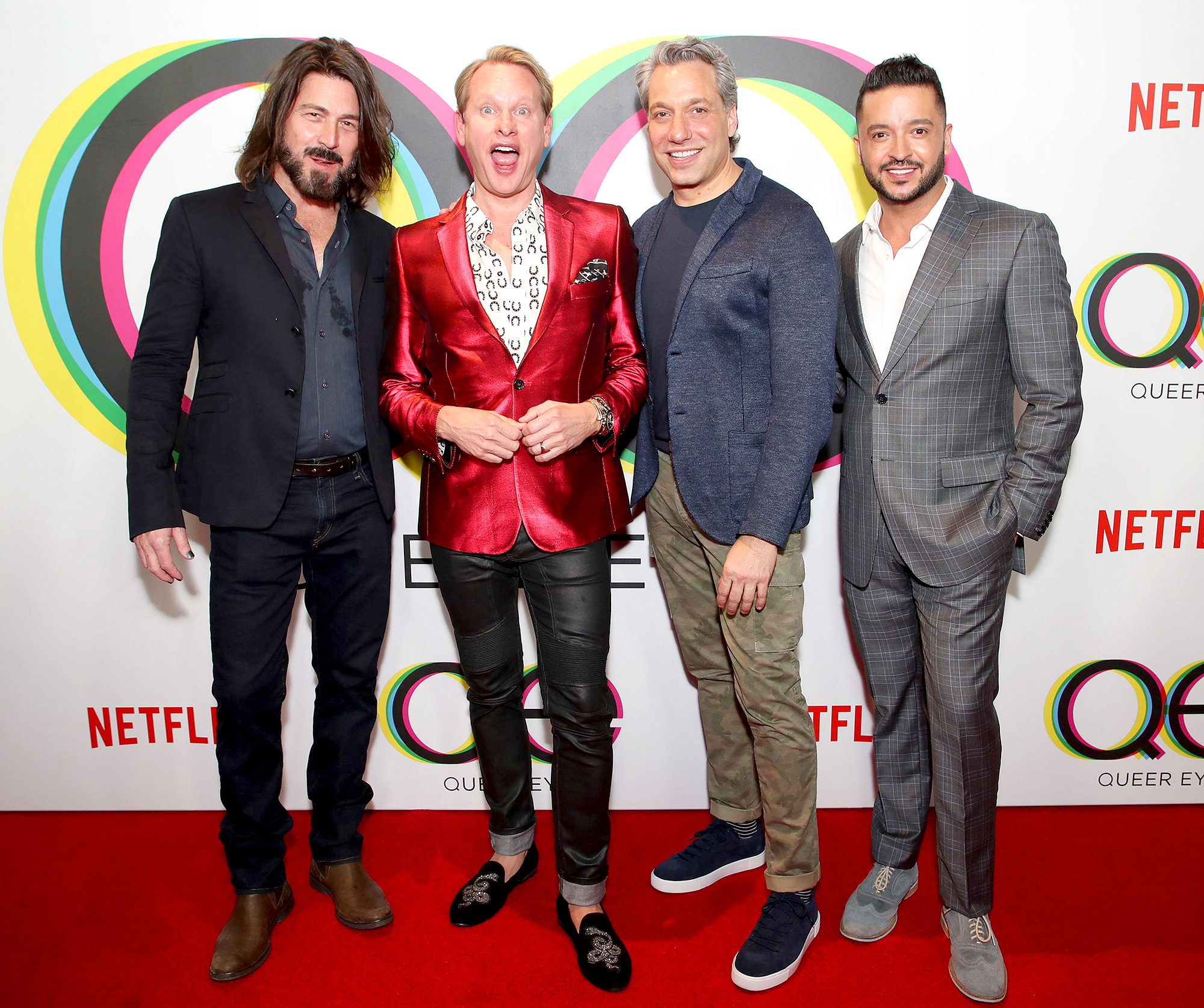 Carson Kressley on 'Queer Eye' Group Chat and Possible Cameo