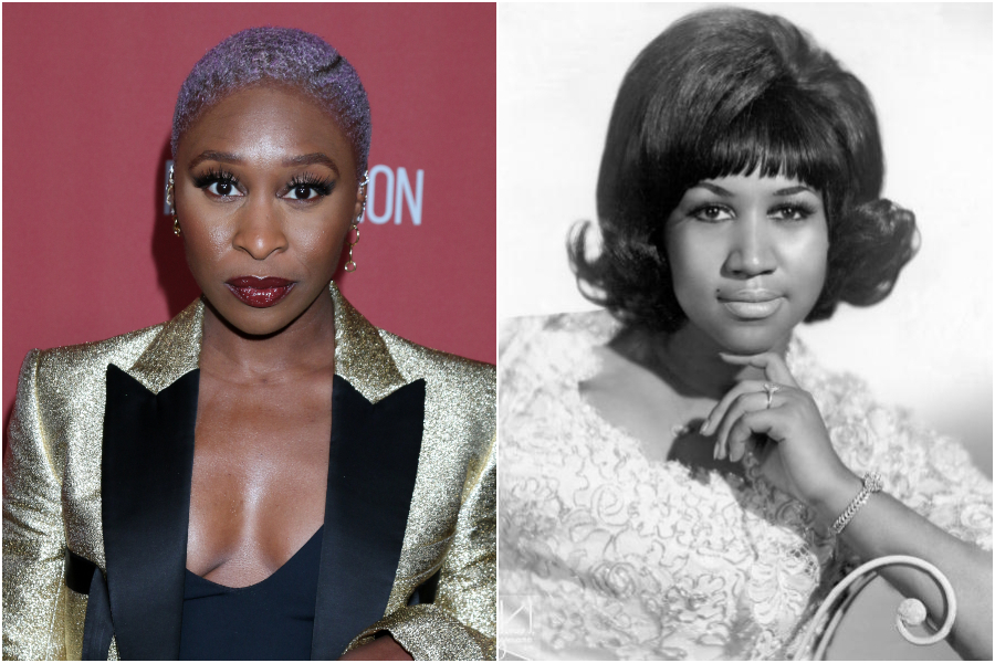 Check Out Cynthia Erivo In Costume As A Young Aretha Franklin For Genius: Aretha