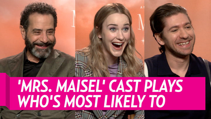 'Marvelous Mrs. Maisel' Cast Reveals Who's Most Likely to Tell a Bad Joke