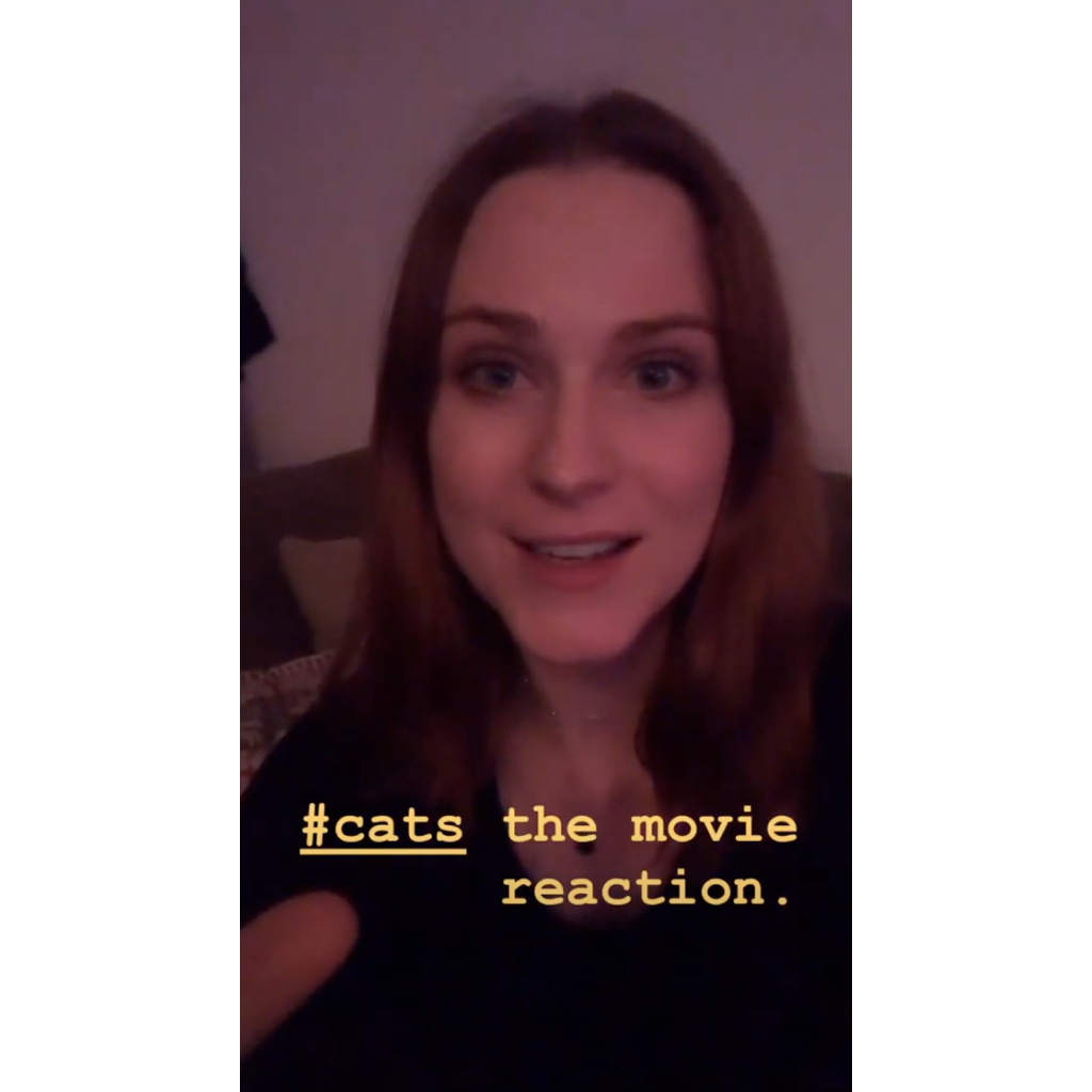 Evan Rachel Wood Gives Honest, Expletive-Filled Review of 'Cats'
