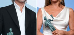 Brad Pitt and Jennifer Aniston's SAGs Reunion: Fans React!