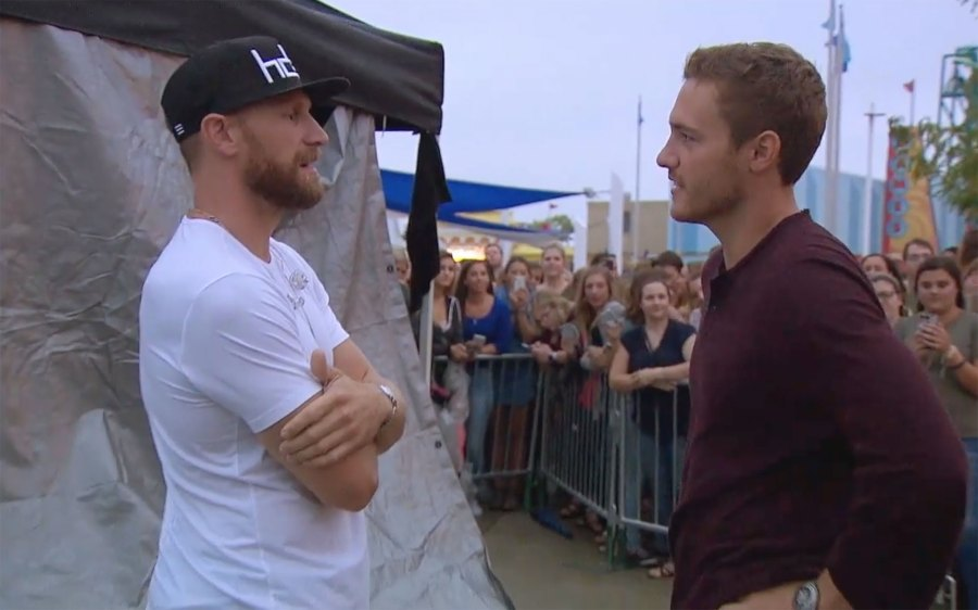 So Awkward! Watch Victoria F. Panic as Peter Talks to Her Ex Chase Rice