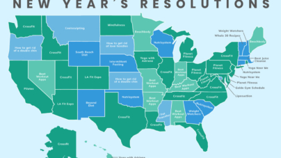 The Top New Year's Resolutions In The United States