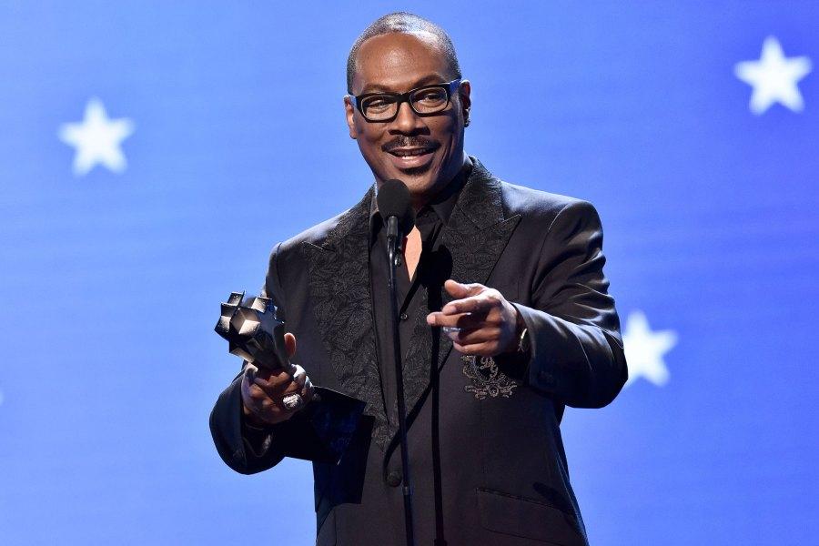 Eddie Murphy Receives Critics' Choice Lifetime Achievement Award