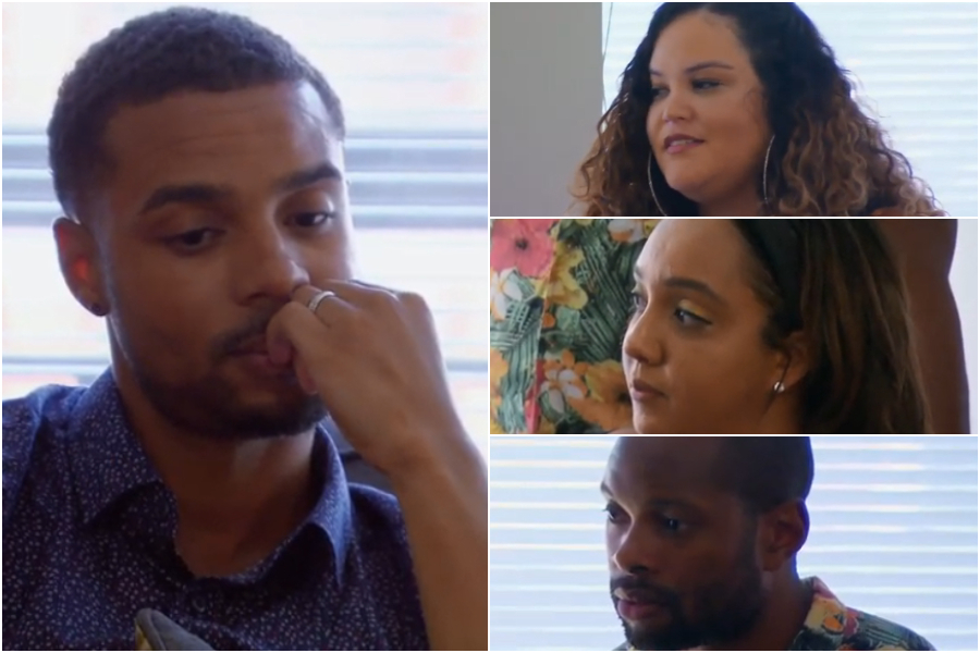 """There's Two Sides To You"": Taylor's Friends Check Brandon On His Jekyll/Hyde Behavior Towards Her In Exclusive MAFS Clip"