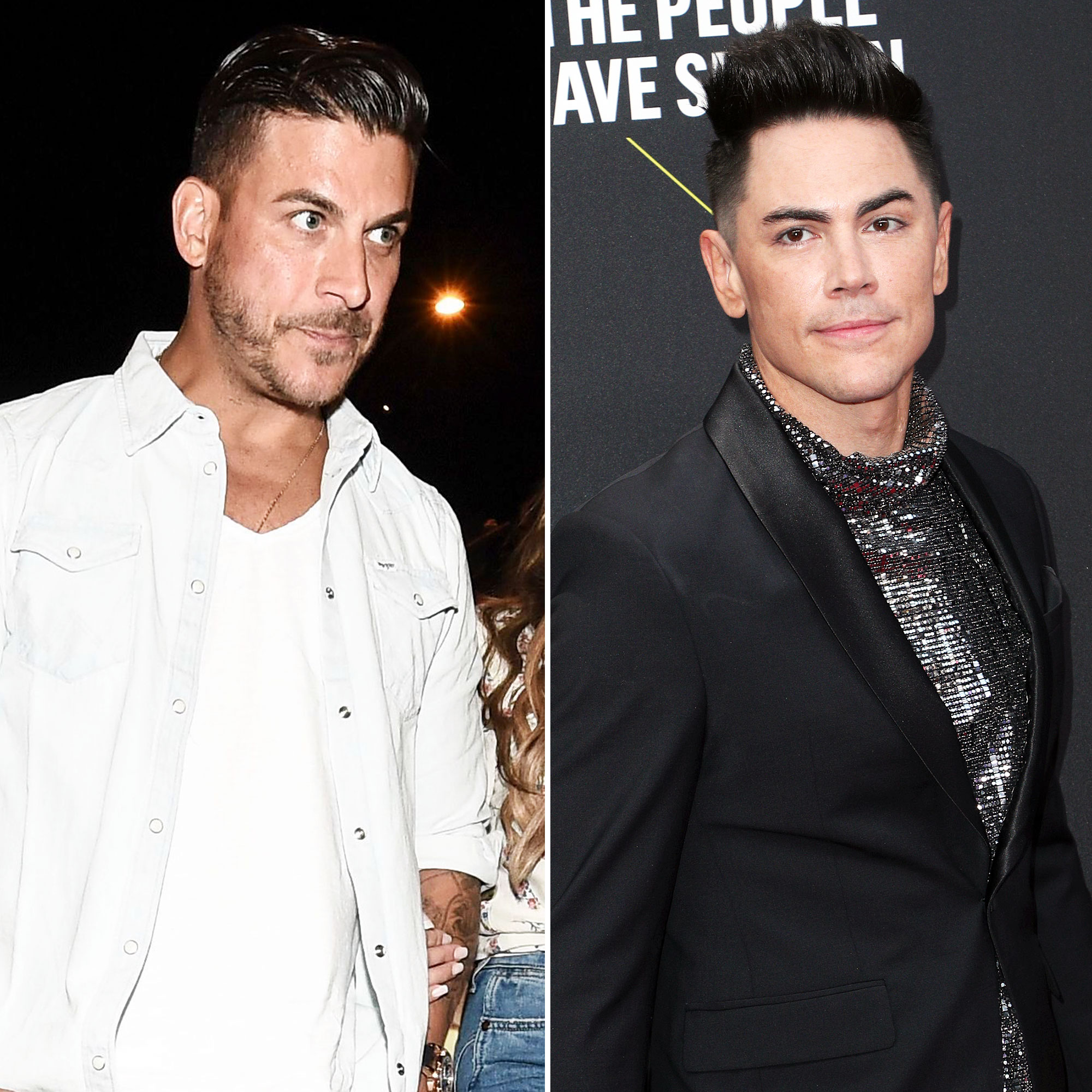 Jax Taylor Goes Off on Tom Sandoval As 'Pump Rules' Pastor Drama Plays Out
